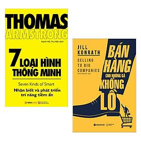 Combo Sách Kỹ Năng Làm Việc (Bộ 2 Cuốn): 7 Loại Hình Thông Minh + Bán Hàng Cho Những Gã Khổng Lồ - (Top Những Cuốn Sách Bán Chạy Nhất / Tặng Kèm Postcard Greenlife)