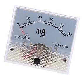 DC Ammeter Analog Panel Meter Amp Meter Current Gauge Pointer Type