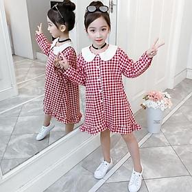 VL95Size110-160 (15-40kg)Đầm cho bé gái, kiểu dáng công chúaThời trang trẻ Em hàng quảng châu