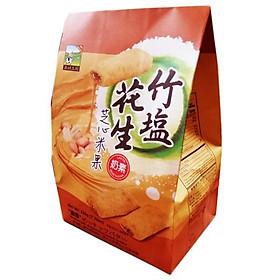 Bánh gạo đậu phộng muối tre Jiahehome Đài Loan 220g