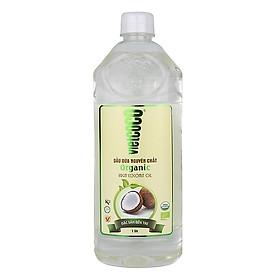 Dầu dừa nguyên chất Organic Vietcoco 1000ml - chai Pet