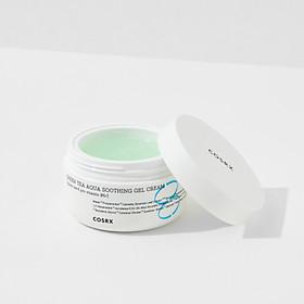 Gel dưỡng cấp nước từ trà xanh làm dịu da nhanh chóng COSRX Hydrium Green Tea Aqua Soothing Gel Cream