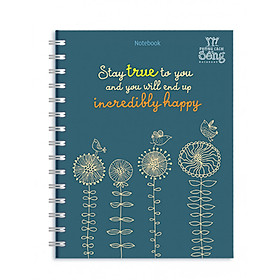Sổ Lò Xo Notebook Minh Long - Stay True To You