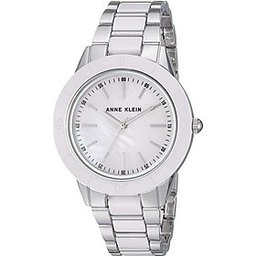 Anne Klein Women's 34mm Ceramic Bracelet Watch