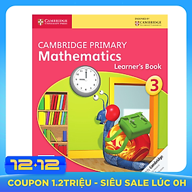 Cambridge Primary Mathematics 3: Learner Book
