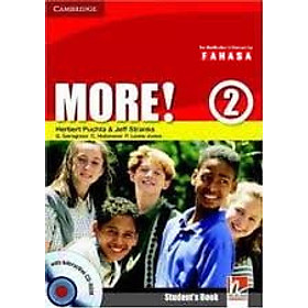 More! Level 2 Student's book with interactive CD-ROM