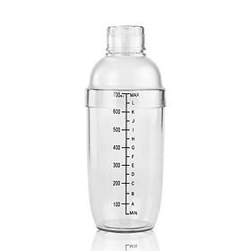 Bình pha chế trà sữa Shaker 700ml (loại tốt)