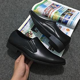 Giày Tây Nam Công Sở Da Cao Cấp Sang Trọng Tăng 3.5cm CTGD0001