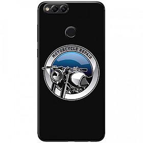Ốp lưng dành cho  Honor 7X mẫu Đầu xe mô tô