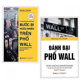 Combo 2 cuốn sách kinh tế tâm đắc: Bước Đi Ngẫu Nhiên Trên Phố Wall + Đánh Bại Phố Wall ( Tặng kèm bookmark)