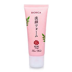 Sữa rửa mặt trắng da sạch nhờn Biorica rose Nhật bản ( 50g)