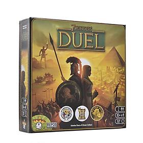 Trò Chơi Board Game 7 Wonders DUEL Tiếng Anh (US) Chất Lượng Cao