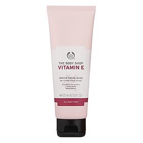 Kem Rửa Mặt Cho Da Nhạy Cảm The Body Shop Vitamin E (125ml)