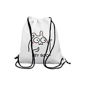 Túi Rút In Hình Thỏ Hey Boo BDCP211