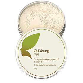 Cám gạo làm đẹp siêu mịn GU-Young - Chăm chút cho sức hút làn da (50g)
