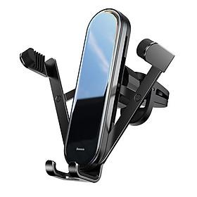 Giá đỡ điện thoại khóa mở tự động cho xe hơi ô tô hiệu Baseus Pen Gravity Car Mount  dạng kẹp thông gió cho xe hơi / ô tô (giao màu ngẫu nhiên) - Hàng nhập khẩu