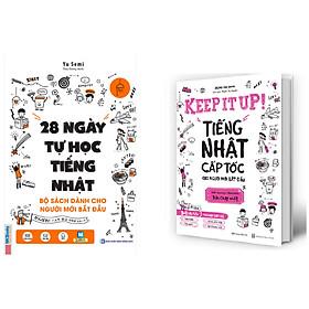 Combo 28 Ngày Tự Học Tiếng Nhật+Keep it up – Tiếng Nhật cấp tốc cho người mới bắt đầu.Minhhabooks