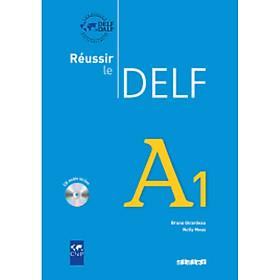 Sách học tiếng Pháp: Reussir Le Delf A1 - Livre (kèm CD)