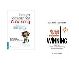 Combo 2 cuốn sách: Bí Quyết Đơn Giản Hóa Cuộc Sống + Câu trả lời của người chiến thắng