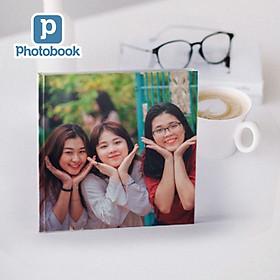 """Photobook - Voucher quà tặng in album ảnh bìa cứng dạng tạp chí vuông cỡ nhỏ 8"""" x 8"""" (20 x 20cm) theo yêu cầu"""