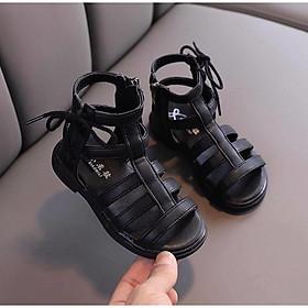 sandal bé gái kiểu nhiều dây