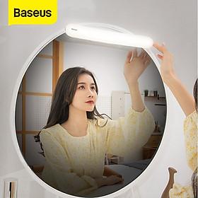Đèn cảm ứng, pin sạc chuyên dùng cho gương trang điểm Baseus Sunshine Series - Stepless Dimmer Mirror Light (2200mAh, High CRI Lamp Beads, Stepless Dimming) - Hàng chính hãng