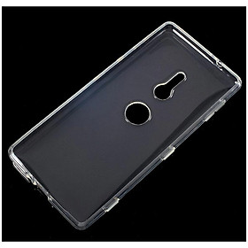 Ốp lưng silicon dẻo trong suốt loại A cao cấp cho Sony Xperia XZ2