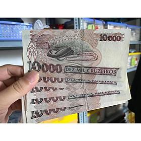 Tờ tiền hình con rắn Brazil xưa, quà tặng người tuổi Tỵ, mới 100%