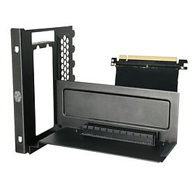 Giá đỡ VGA dọc Cooler Master VGA Holder Vertical with Riser PCI -e 3.0 - Hàng Chính Hãng