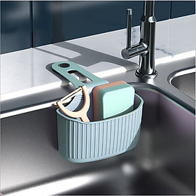 Giỏ SILICON đựng đồ đa năng treo bồn rửa bát, treo tường hút chân không tiết kiệm diện tích - giao màu ngẫu nhiên