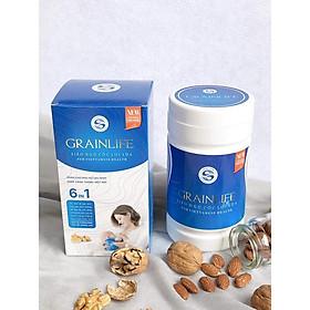 Siêu Ngũ Cốc Lợi Sữa 6IN1 Grainlife (500gr) - 100% Hữu Cơ - Dành Cho Người Ít Sữa, Mới Sinh, Cần Bổ Sung Dinh Dưỡng - Hỗ Trợ Nuôi Con Bằng Sữa Mẹ - Chứng Nhận ATVSTP