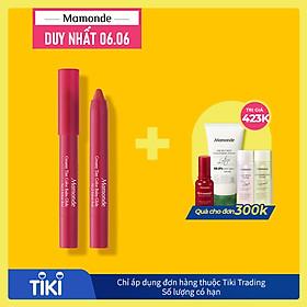 Son bút chì phiên bản mới Mamonde Creamy Tint Color Balm Glide 1.2g