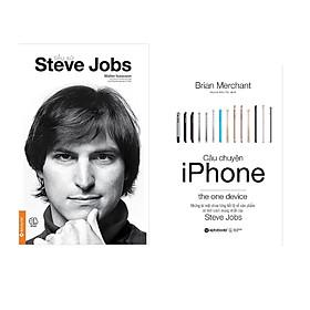 + Combo Sách Kĩ Năng Kinh Doanh: Tiểu Sử Steve Jobs (Tái Bản 2017) + Câu Chuyện Iphone