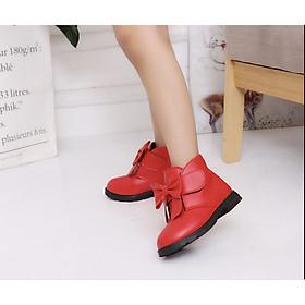 Giày boot bé gái cao cấp BB003