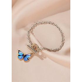 Lắc tay | Lắc tay nữ hình cánh bướm xinh XBL45 - Bảo Ngọc Jewelry
