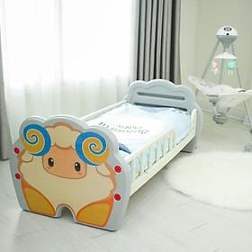 Giường cho bé bằng nhựa cao cấp Holla, dùng cho bé từ sơ sinh đến 10 tuổi, chịu lực 50 kg, luyện cho bé tính tự lập