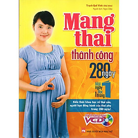 Sách - Mang thai thành công - 280 ngày, mỗi ngày đọc 1 trang
