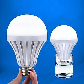 Combo 2 bóng đèn Led cảm ứng tích điện 9W (tặng kèm chui sạc)