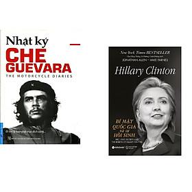 Combo 2 cuốn sách: Che Guevara - Nhật Ký Hành Trình Xuyên Châu Mỹ La Tinh + Hillary Clinton - Bí Mật Quốc Gia Và Sự Hồi Sinh
