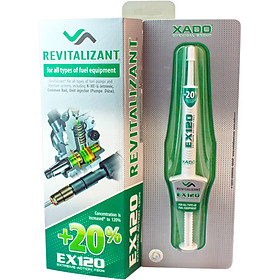Phụ gia hồi phục chi tiết bộ hộp số XADO REVITALIZANT EX120 for gearboxes (box, syringe 8 ml)
