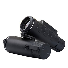 40X60 BAK4 Mini Night Vision Monocular Telescope HD Vision Prism Scope Outdoor Hunting Camping Hiking Fishing Wide-Angle