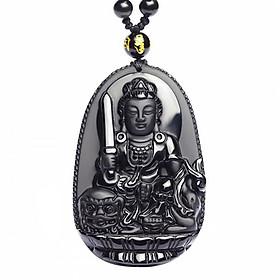 Hình đại diện sản phẩm Phật bản mệnh tuổi Mão - Văn thù Bồ Tát Đá núi lửa