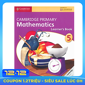 Cambridge Primary Mathematics 5: Learner Book