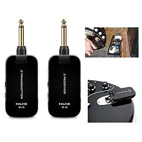 Bộ Thu Phát Tín Hiệu Không Dây Nux B2 - Wireless Guitar System 2.4GHz B-2 Pin sạc