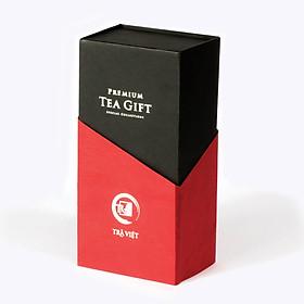 Hộp quà tặng nhà giáo Thiếc 2 Trà Việt - Trà Ô Long, Sen