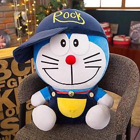 Gấu bông Doraemon nón Rock-Gấu bông hoạt hình- Gấu bông cho bé