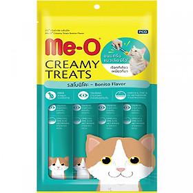 Đồ Ăn Mèo Me-O Bánh Thưởng Dạng Kem Vị Cá Ngừ (60g)