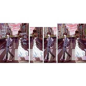 Nhắn Gửi Một Tôi, Người Đã Yêu Em - Quà Tặng: 2 Bookmark + 1 Postcard (Số Lượng Giới Hạn)