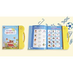 Sách nói điện tử song ngữ Anh - Việt cho trẻ em