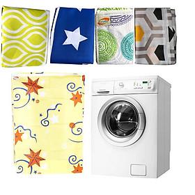 Áo Trùm Máy Giặt Cửa Trước Cỡ Lớn 7-9 Kg Chống Rách Chống Thấm Tốt